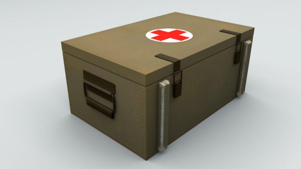 военные медицинские ящики купить