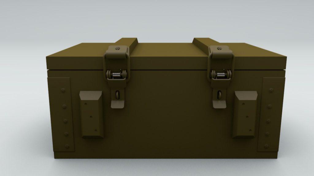 ящик для военных цена