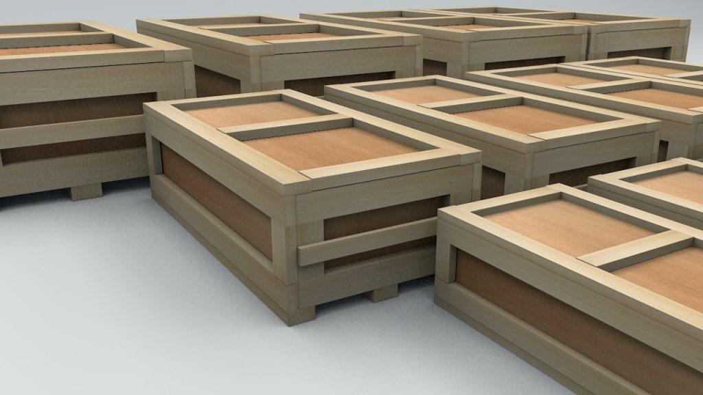 ящик деревянный транспортировочный