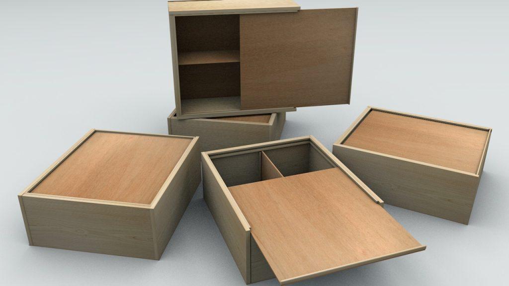 фанерные ящики для деталей