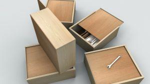 Картотечные ящики деревянные