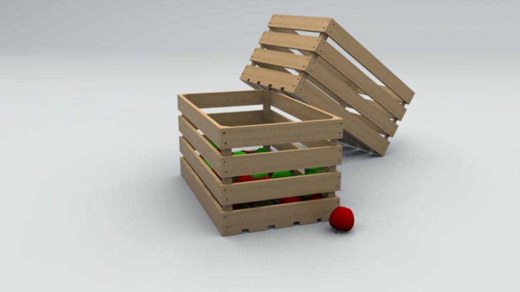 купить фанерный ящик для фруктов