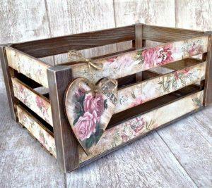 Фанерный ящик для декора