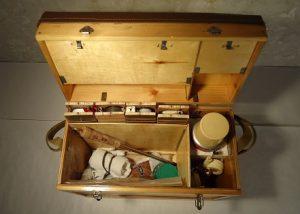 Фанерный ящик для зимней рыбалки